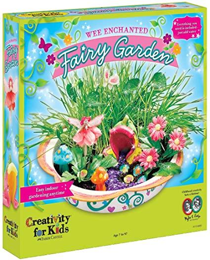 Amazon.com: Creativity for Kids Enchanted Fairy Garden Craft Kit .