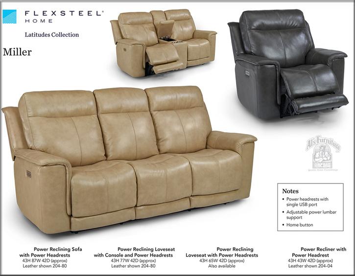 Flexsteel Leather And Motion Furniture | Al's Furniture | Modesto