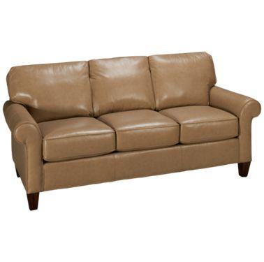 Flexsteel-Westside-Flexsteel Westside Leather Sofa - Jordan's .