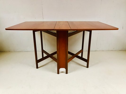 Folding Dining Table by Tom Robertson for McIntosh, 1960s for sale .