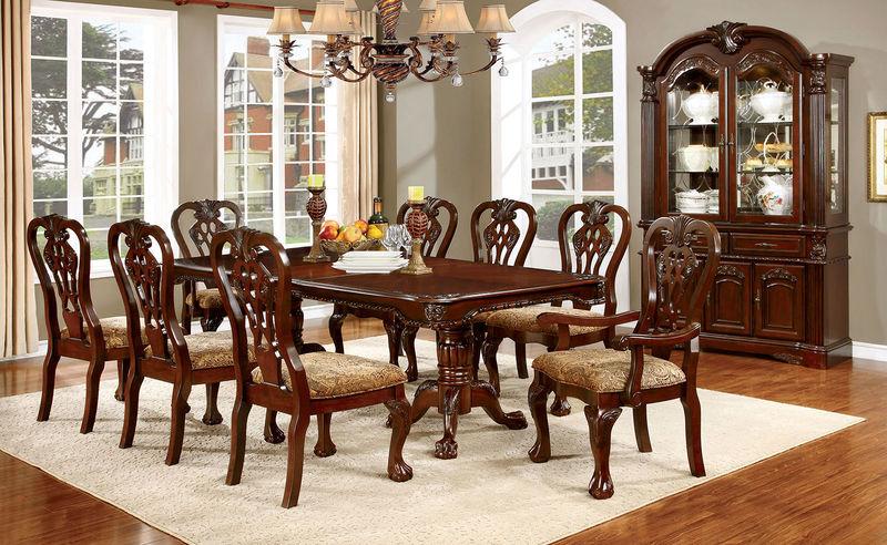Furniture of America | CM3212T Elana Formal Dining Room Set .