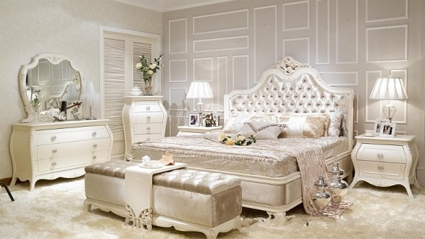 Create a Bedroom That Speaks the Language of Love with French .