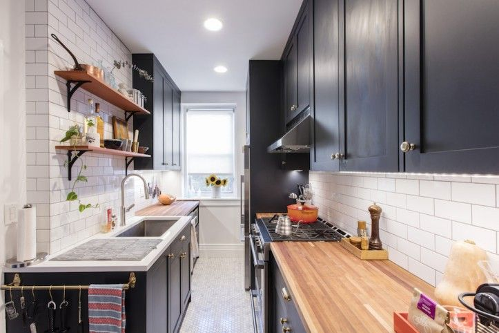 Why a Galley Kitchen Rules in Small Kitchen Design | Galley .