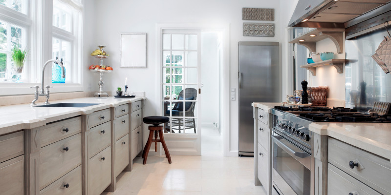 Galley Kitchen Remodeling Ideas | S.N. Peck Builder, In
