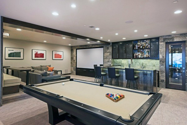 60 Game Room Ideas For Men - Cool Home Entertainment Desig