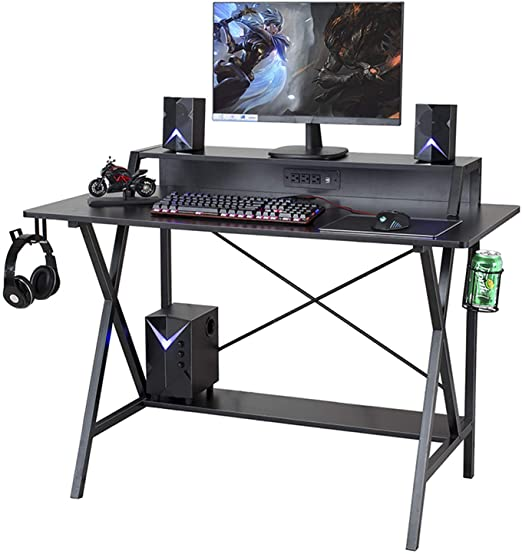 "Amazon.com: Sedeta Gaming Desk, 47"" Gaming Table, E-Sports ."