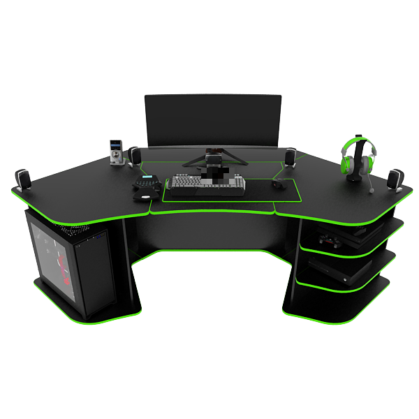 R2 Gaming Desk (BG) by PROSPEC DESIG