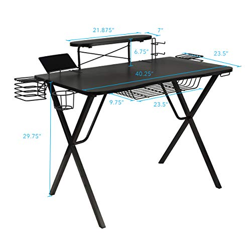 Amazon.com: Atlantic Gaming Original Gaming-Desk Pro - Curved .