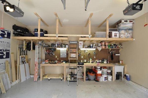 Overhead garage storage – ideas for your vertical space | Garage .