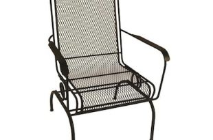 Garden Treasures Stackable Metal Spring Motion Dining Chair(s .