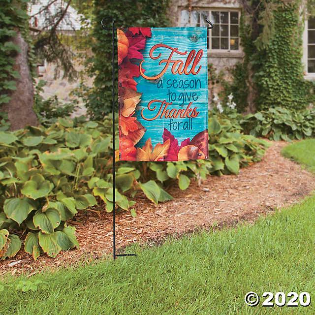 Fall Blessings Garden Flag | Oriental Tradi