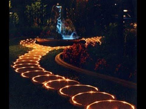 Garden lightening ideas - YouTu