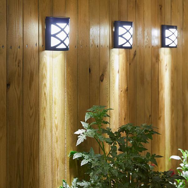 Solar-Powered Wall Mount LED Garden Light – Next Deal Sh