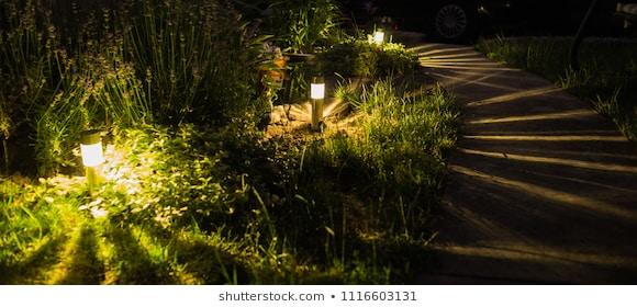 Garden Lights Images, Stock Photos & Vectors | Shuttersto
