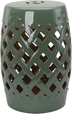 "Amazon.com: Outsunny 13"" Heavy Duty Patio Sturdy Ceramic Garden ."