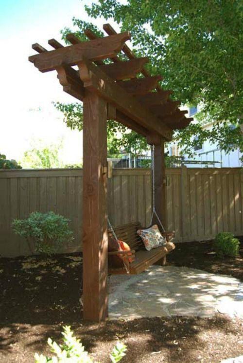 10 DIY Garden Swings That Unite Beauty and Function   Backyard .