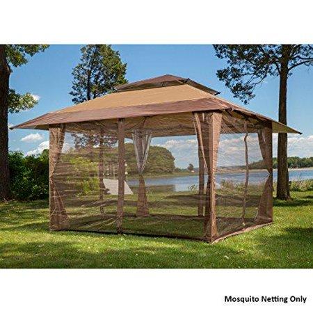10' x 10' mosquito netting panels for gazebo canopy - Walmart.c