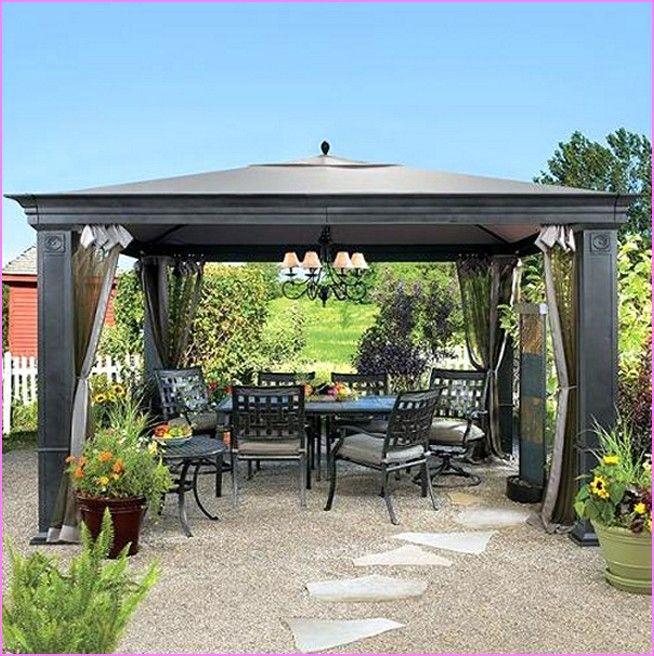 Incredible Backyard Canopy Ideas Patio Canopy Gazebo Home Design .