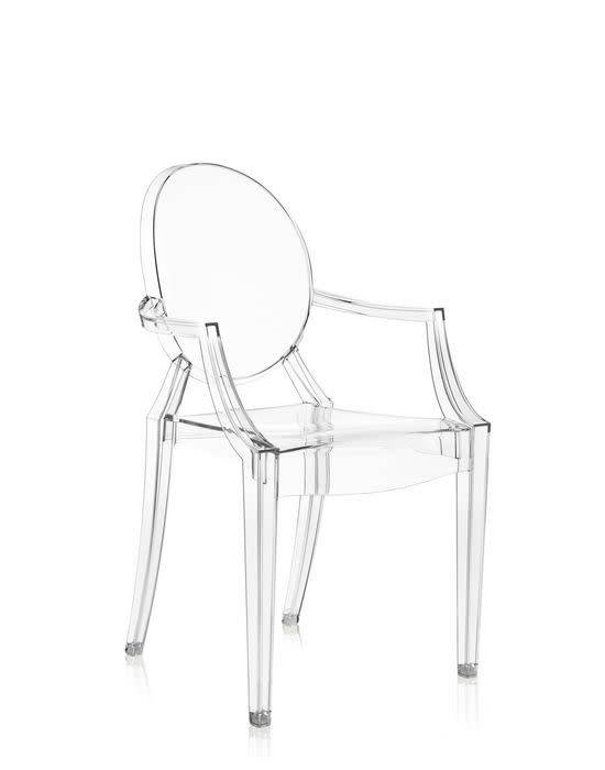 Kartell Louis Ghost Chair in Crystal - Now or Nev
