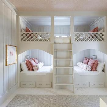 Red Spindle Girls Beds Design Ide