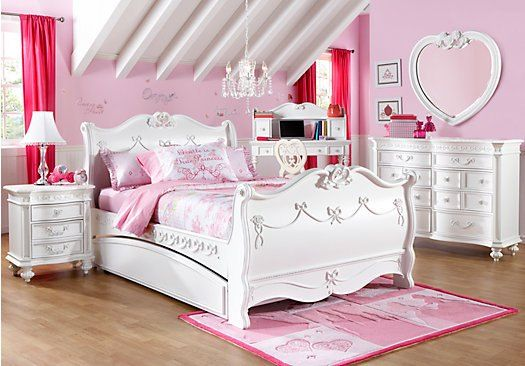 Disney Princess Furniture Redo | Girls bedroom sets, Little girls .