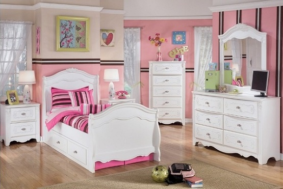 Bedroom furniture sets for girls - Video and Photos .