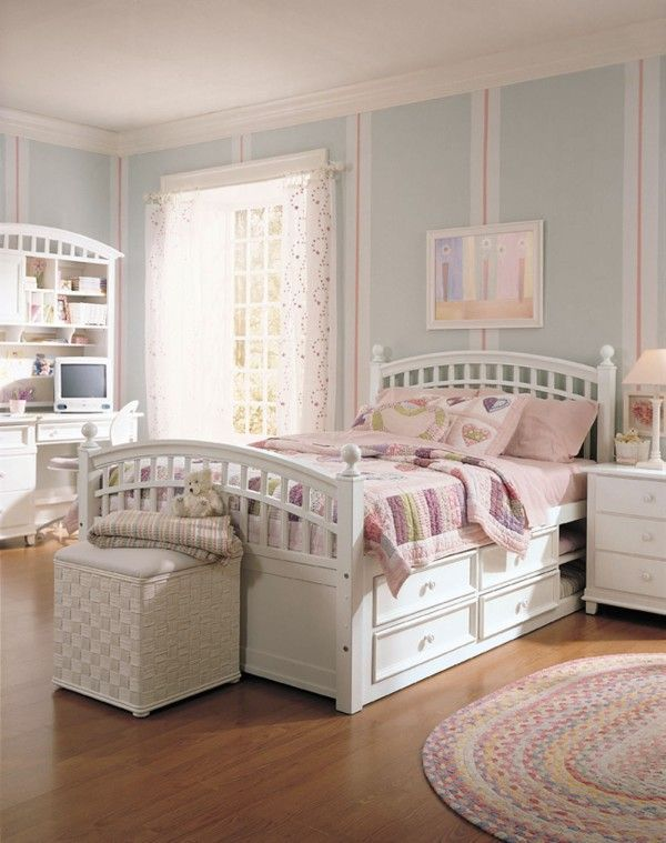 Girls' Bedroom Set by Starlight | Girls bedroom sets, Girls white .