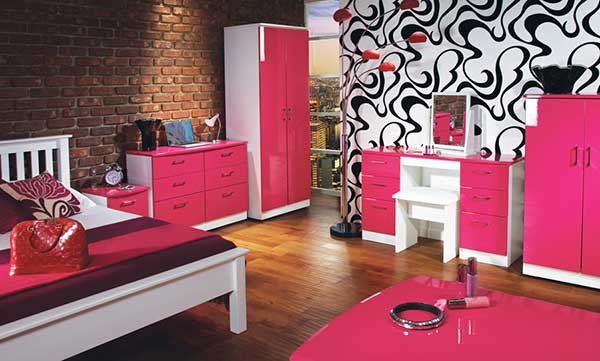 10 Pink Bedroom Furniture Sets For Girls - Make Simple Desi