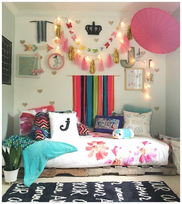 Stunning DIY Teen Girl Room Decor Ideas For Teen Girl Beds .
