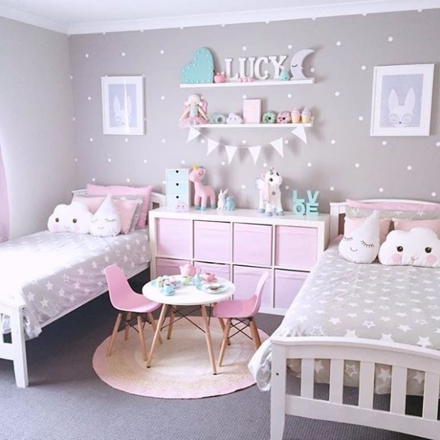 girls room decor ideas 1 - My Daily Magazine - Art, Design, DIY .