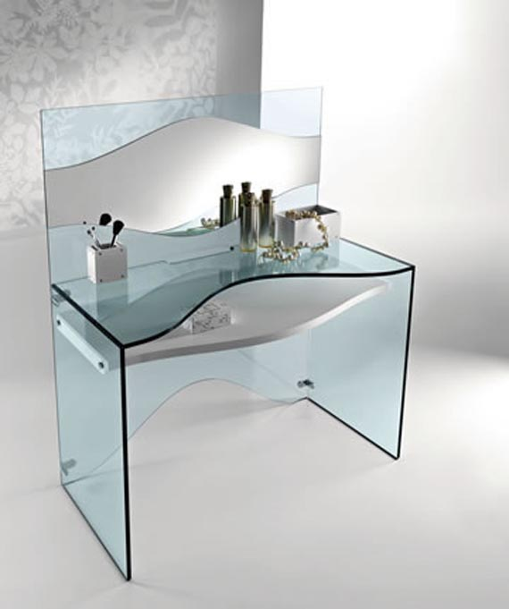 Modern glass furniture design | Apartmen