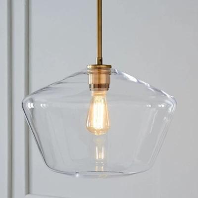 Meriall - Hanging Glass Pendant Lamp – Warm