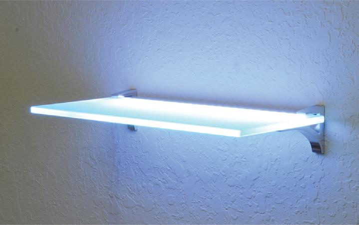 Imex Lighted Glass Shelves - Imex Hardware | Imeca Lumber .
