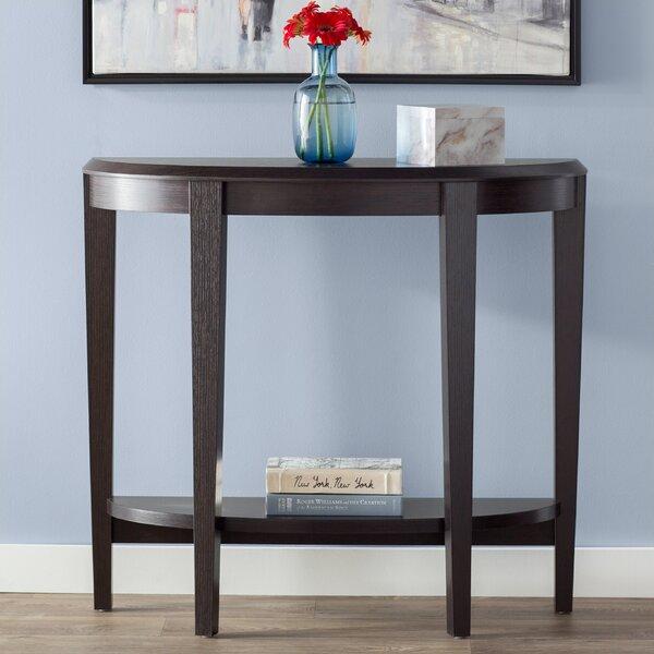 Half Moon Table With Drawer | Wayfa