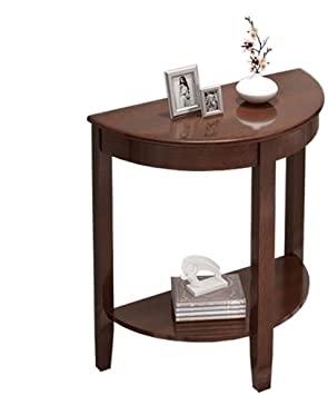 Amazon.com : AI XIN Wood Half Moon Console Table, Vintage Console .