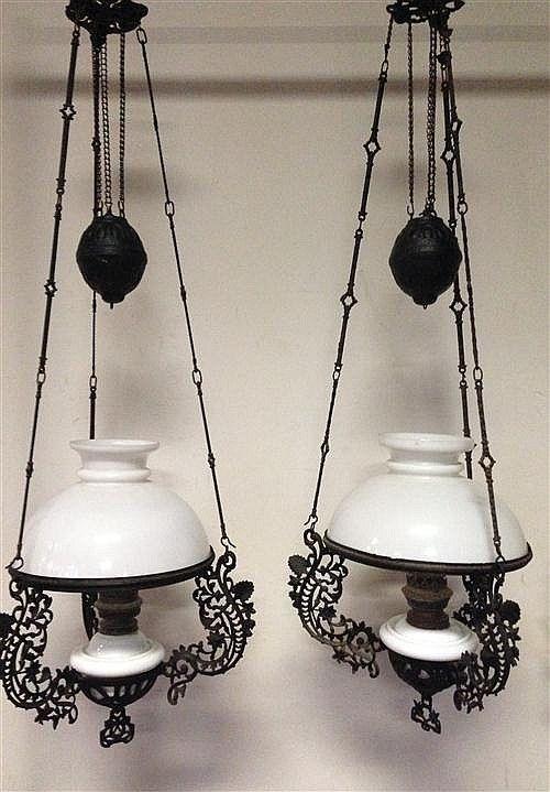 Pair of Dutch Colonial Hanging Lamps | Hanging lamp, Colonial lamp .