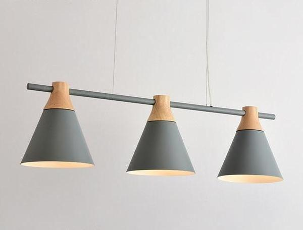 Modern Nordic Linear Hanging Lamps – Warm