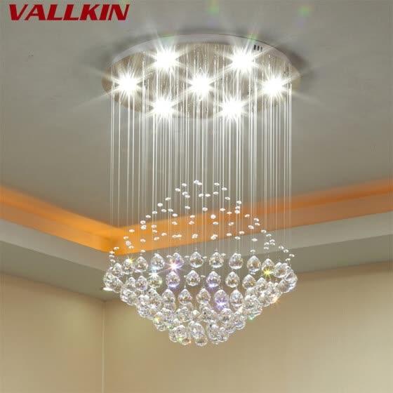 Shop Modern Crystal Chandeliers Lighting Fixture Ceiling .
