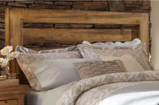 Queen Willow Slat Headboard Distressed Pine - Progressive : Targ