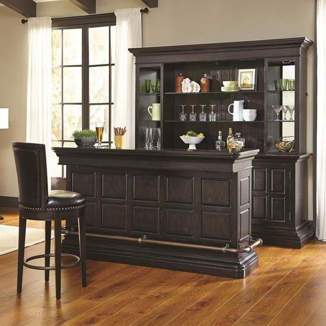Burton Home Bar Set Pulaski Furniture | FurniturePi