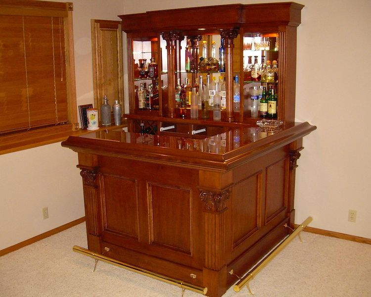 Home Pub Bars for Sale | Home Bar Furniture, Home Corner Bars, Wet .