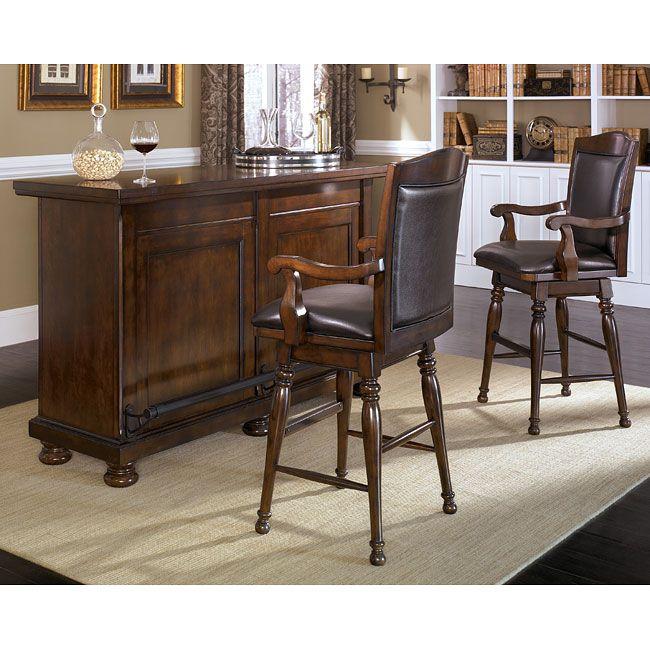 Ashley Furniture Home Bars | Home bar furniture, Bars for home .