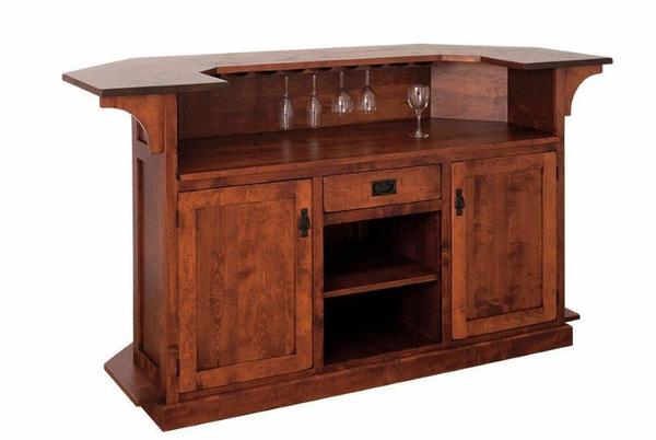 Caledonia Indoor Home Bar from DutchCrafters Amish Furnitu