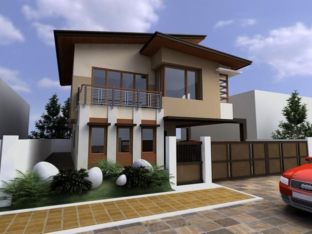 Exterior designThe Cool and Attractive Exterior Design Ideas .