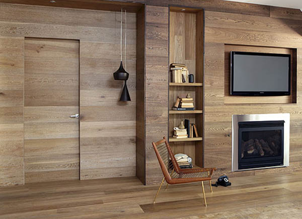 Wooden Wall Panelling and Wood Furniture, Eco Interior Design and .
