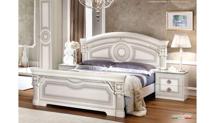 Aida White Italian Bedroom Furnitu