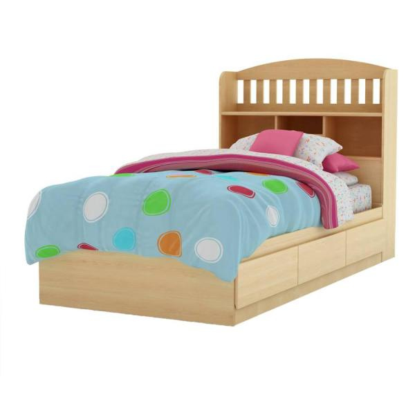 South Shore Urben Twin Kids Storage Bed 3113212 - The Home Dep