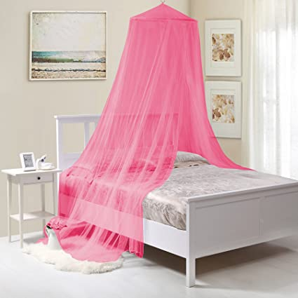 Amazon.com: Fantasy Kids Kids Collapsible Wire Hoop Bed Canopy .