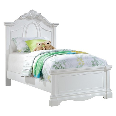 Twin Estrella Kids Bed White - Acme Furniture : Targ