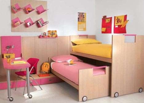 Interactive Interiors: Convertible Kids Bedroom Furniture .
